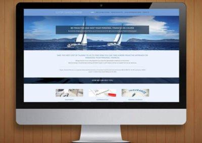 Clayton Financial Planner WordPress Website Design and Development