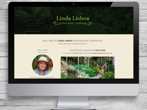 Linda Lisboa WordPress Website Design and Development