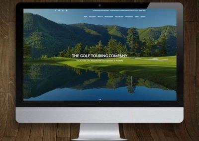 The Golf Touring Company WordPress Website Design and Development