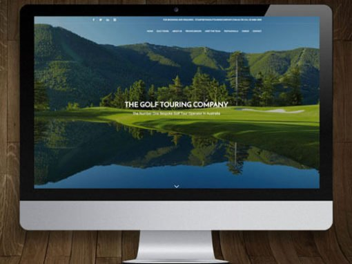 The Golf Touring Company WordPress Website Design and Development