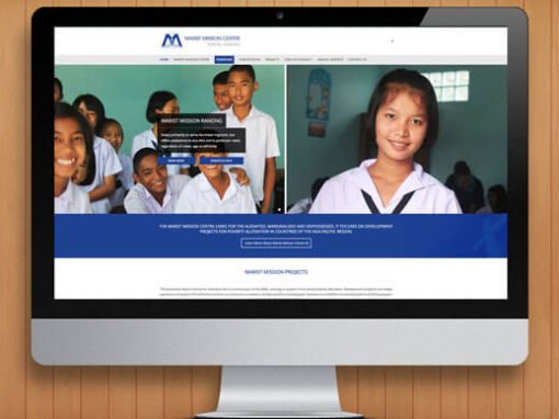 Marist Missions WordPress Website Design and Development