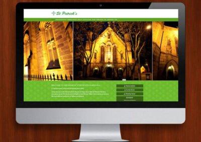 St Patrick's Church WordPress Website Design and Development