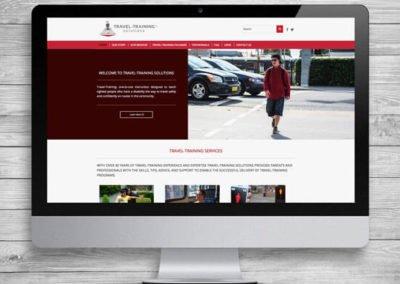 Travel Training WordPress Website Design and Development