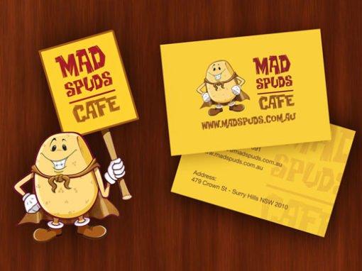 Mad Spuds Branding