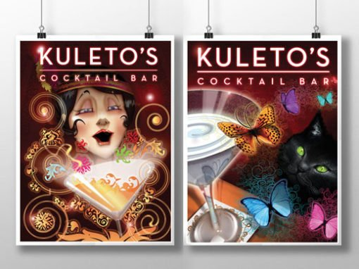 Kuletos Bar Poster Design