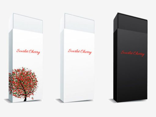 Scarlet Cherry Packaging Design