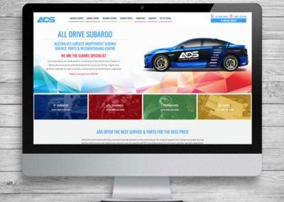 All Drive Subaroo WordPress Website Design and Development