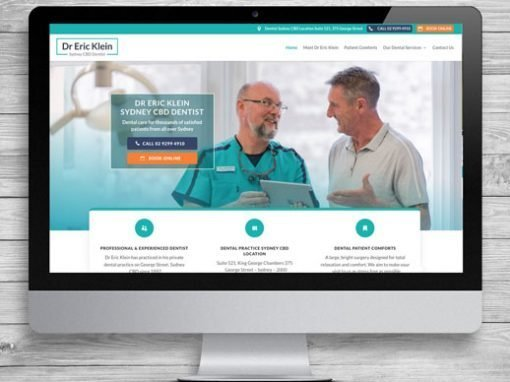 City Dentist WordPress Website Design and Development