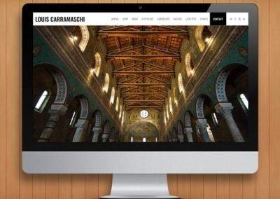 Louis Carramaschi Photography WordPress Website Design and Development