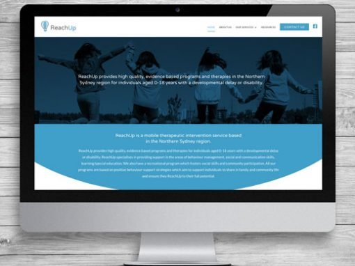 ReachUp WordPress Website Design and Development